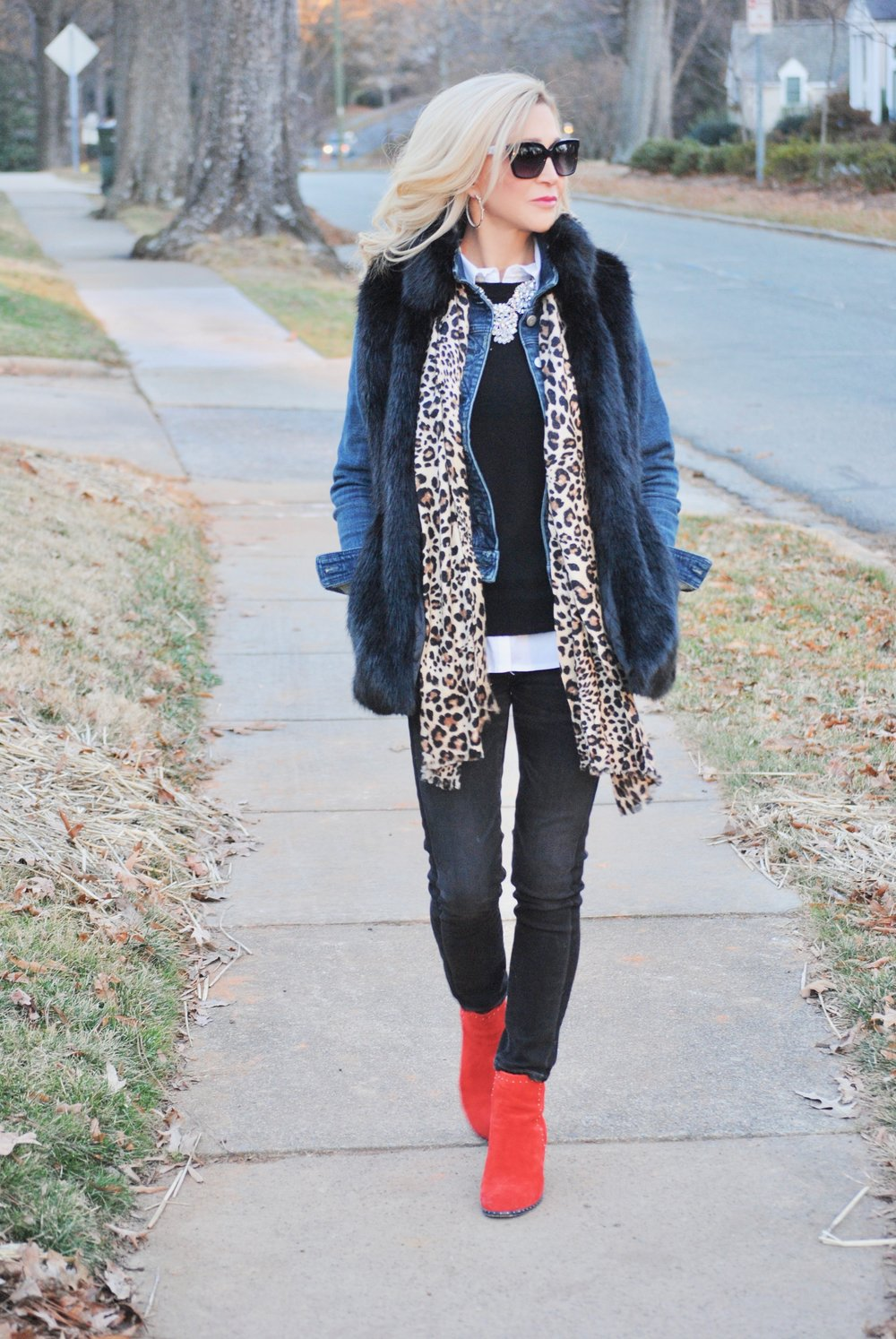 Layering for stye and warmth