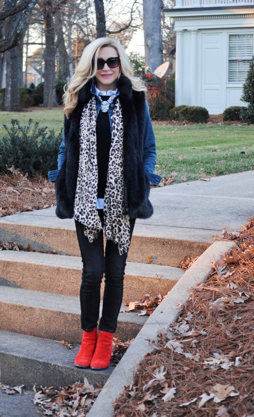 Layering for style and warmth