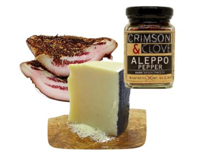 Aleppo Pepper, Pecorino Romano, Aleppo Pepper