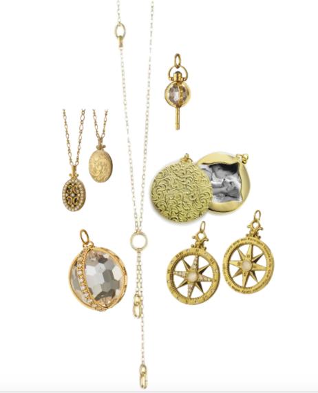 Monica Rich Kosann Charms and Necklace
