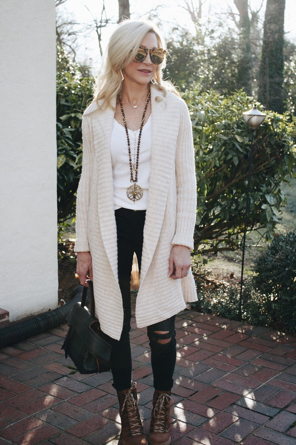 Cozy Winter White Sweater