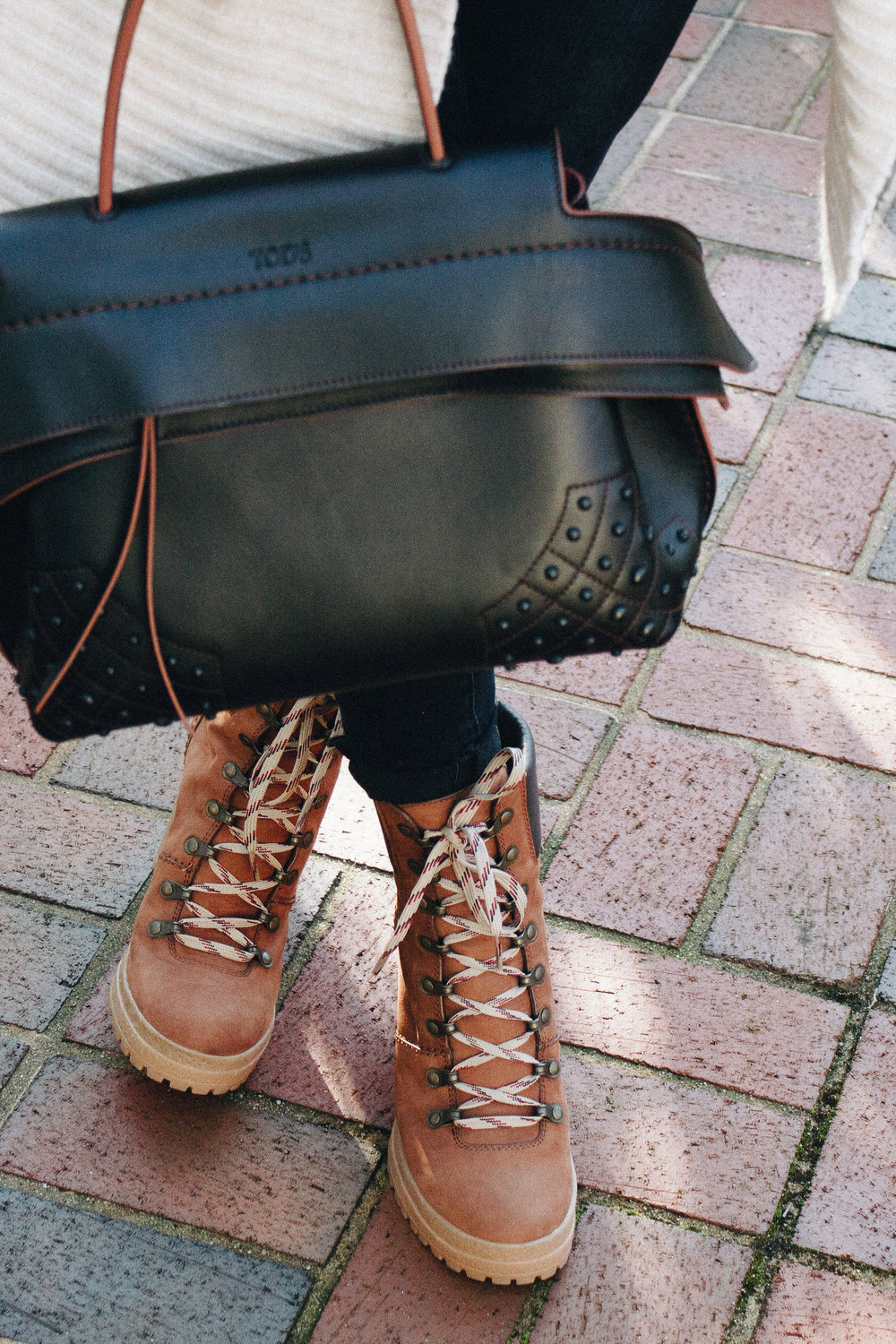 See by Chloe Boots & Tod's Bag