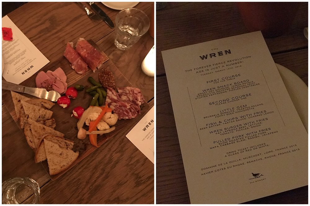 Wren Restaurant East Village New York