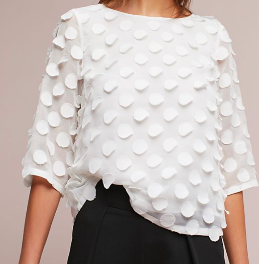 Dottie Top from Anthropologie -