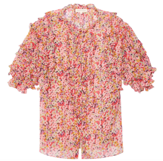 Rebecca Taylor Floral Blouse -