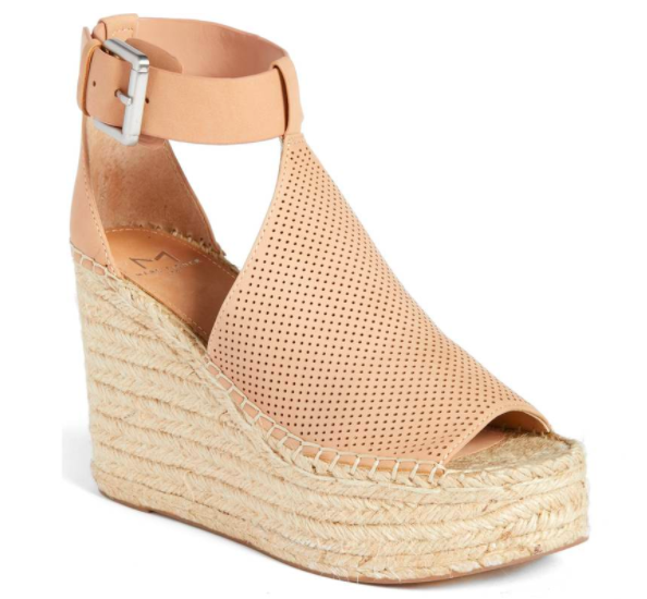 Marc Fisher Wedge Sandal - $150.00