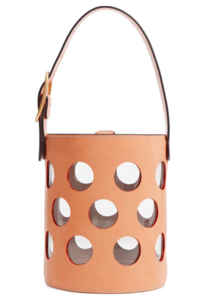 Tory Burch Perforated Leather Bucket Bag - I think this is the most perfect summer bag ever!  My birthday is coming up if anyone needs a hint!