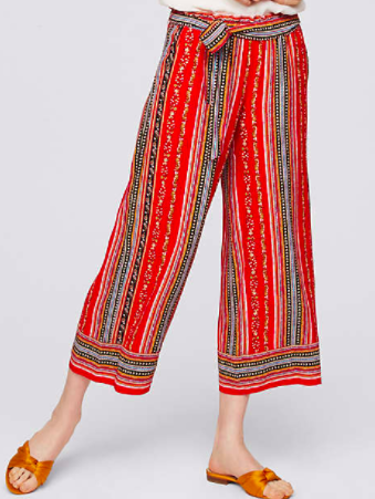 Red Palazzo Pants - Loft 69.50 - I will admit that I've already purchased these!  The price is right and I'm so excited to wear them!  Aren't they sooo cute?