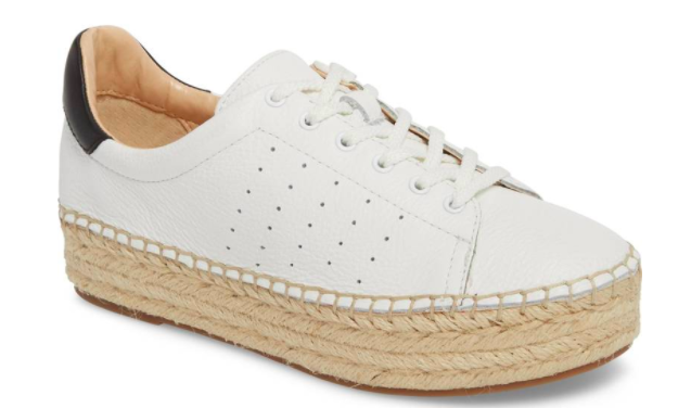 Vince Camuto Espadrille Sneaker - Cute and comfy! $110.00