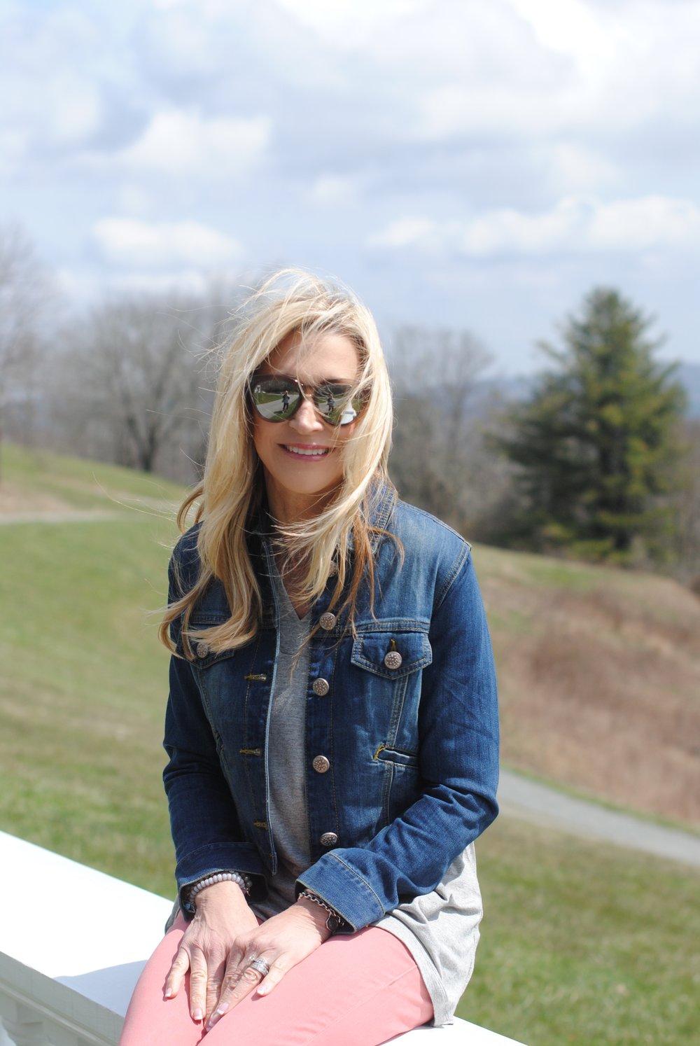 Wearing Cabi in Boone North Carolina