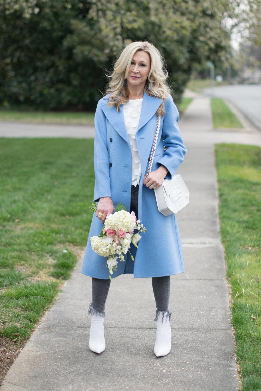 Spring coat by Zara