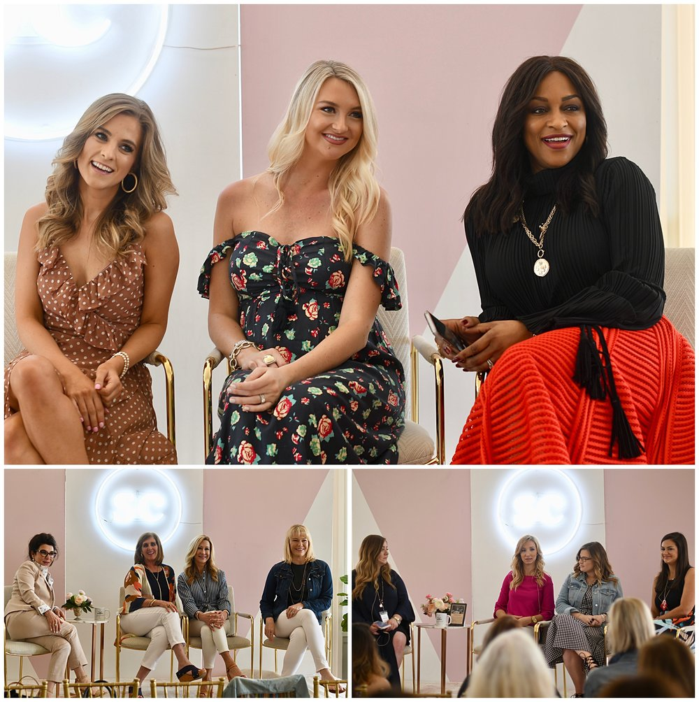 Panelists at the Style Collective Blogger Conference