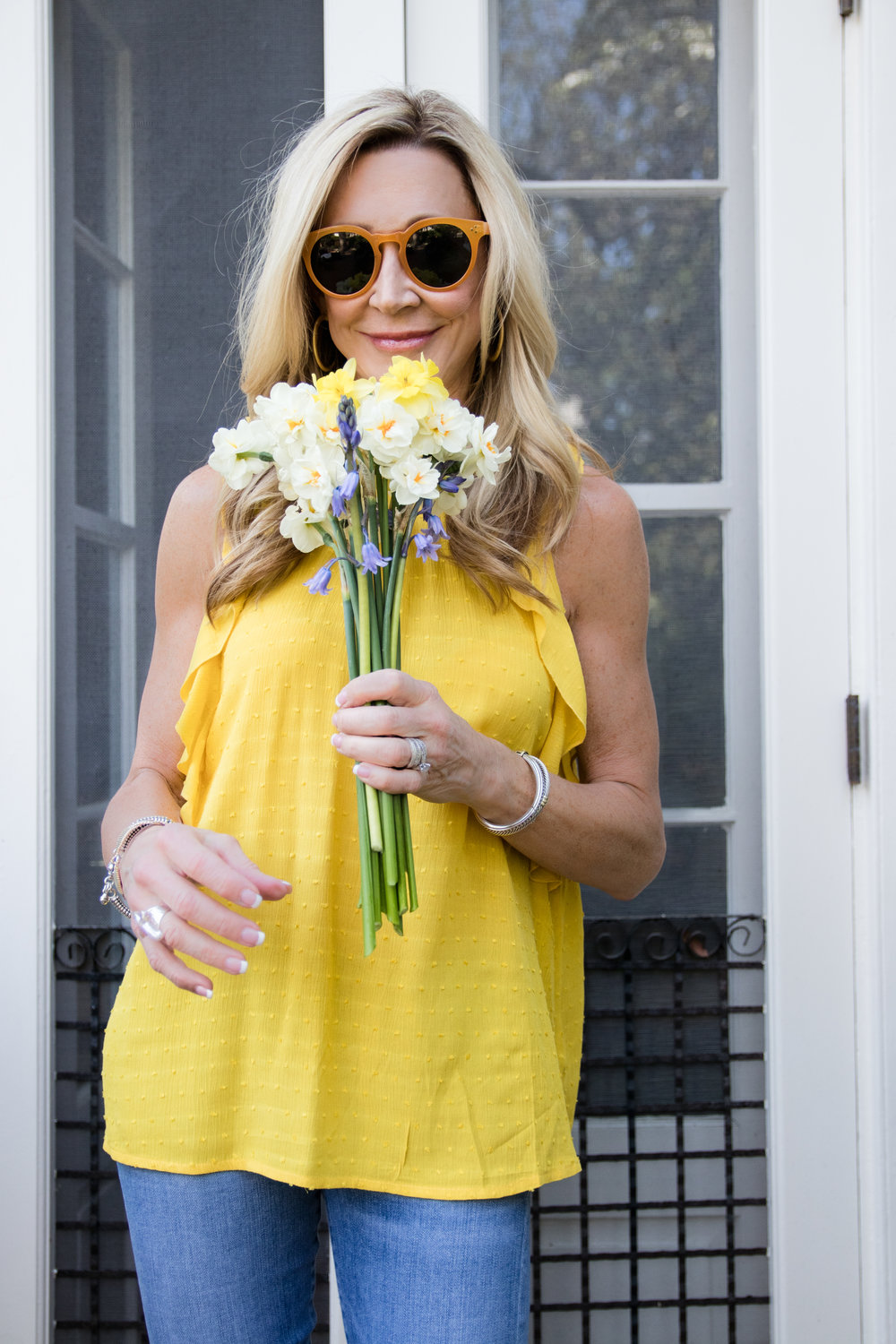 Spring Yellow Top
