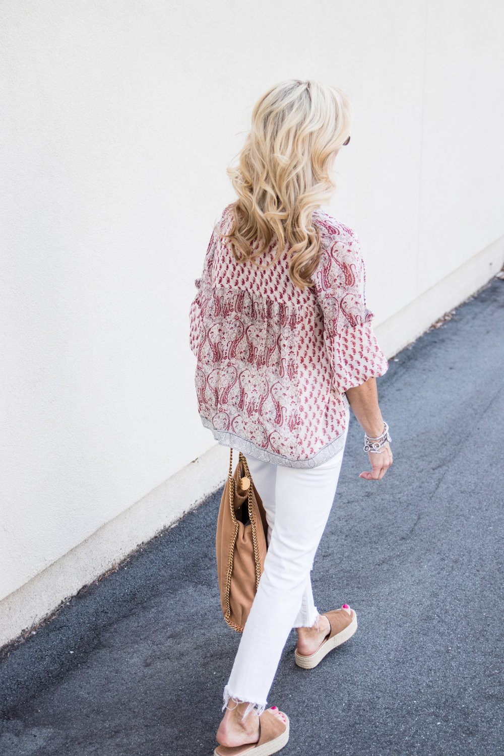 Ulla Johnson top with Vera Bradley Sunglasses