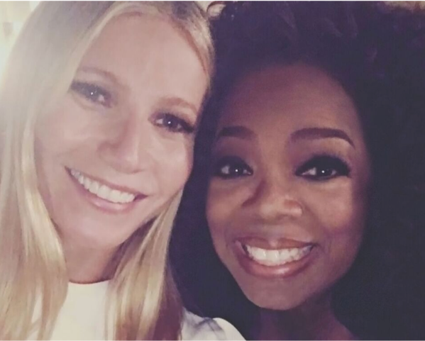 Goop Podcast - The first interview was with Oprah!  Starting out with a bang!