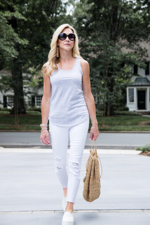Favorite J Brand White Jeans