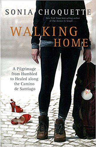 Walking Home is a memoir by Sonai Choquette about her 500 mile pilgramage along the Camino de Santiago.  After her marriage of 30 years failed, she goes on a journey in order to explore her heart and soul and find healing.  It's a story of the gift of forgiveness.  I couldn't put this book down!  - Walking Home ~ Sonia Choquette