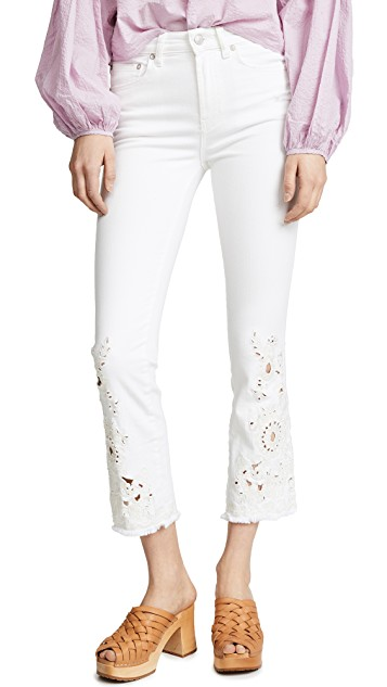 Free People Cutwork Denim - On Sale - 64.00