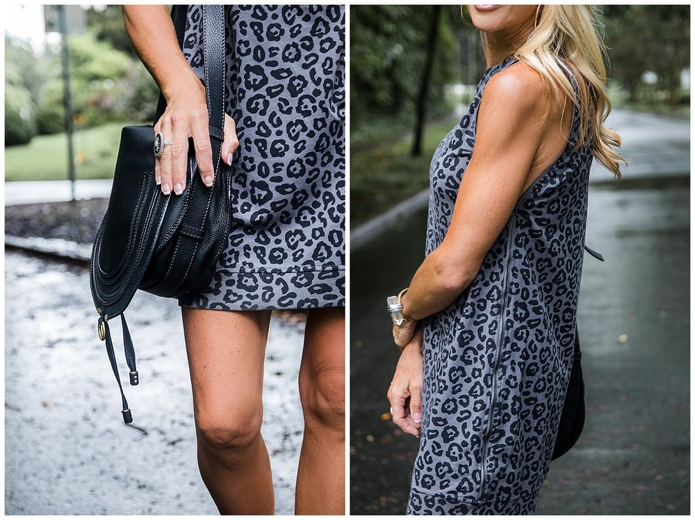 Transitional Fall Leopard Dress