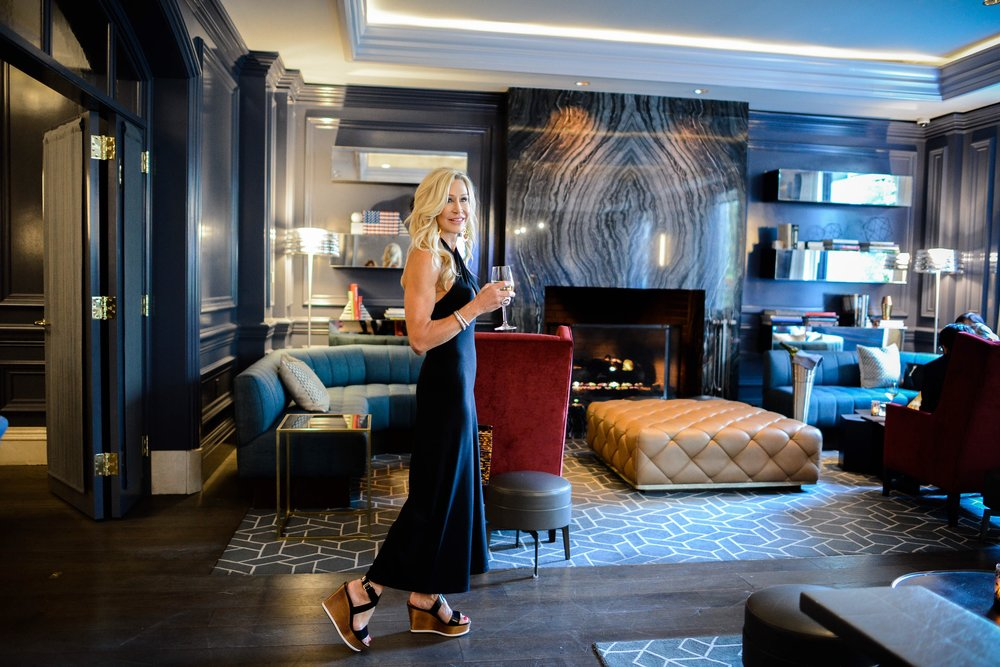 Susana Monaco Jumpsuit at the Ritz Carlton Washington D.C.