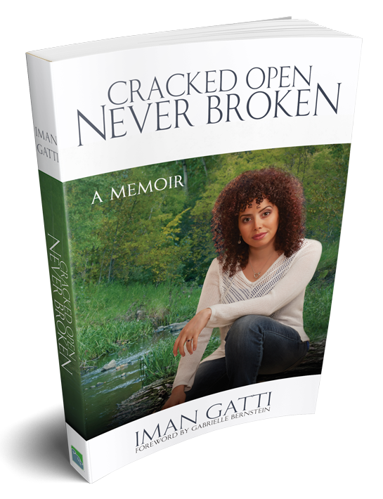 Must Read Book - Cracked Open Never Broken by Iman Gatti
