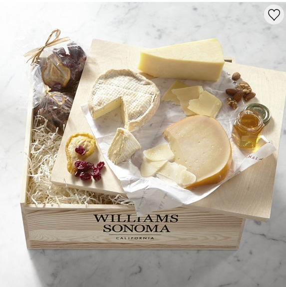 American Road Trip Cheese Gift Crate - Williams Sonoma - Shop Here