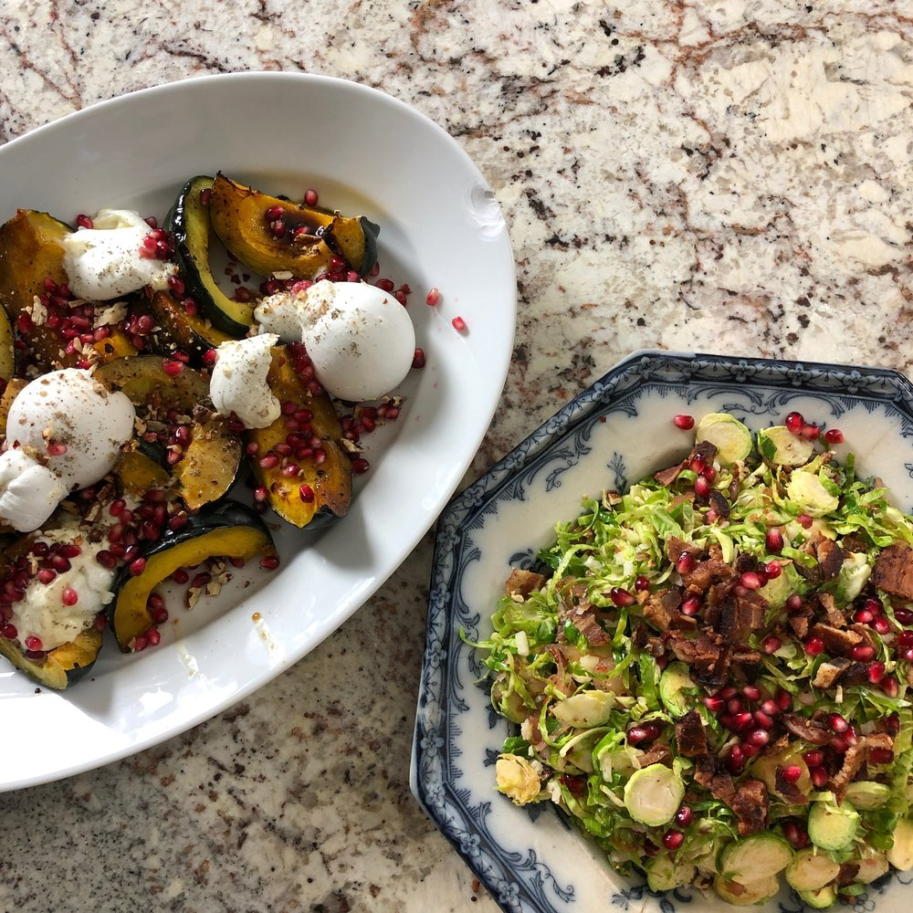 Two amazing Thanksgiving sides
