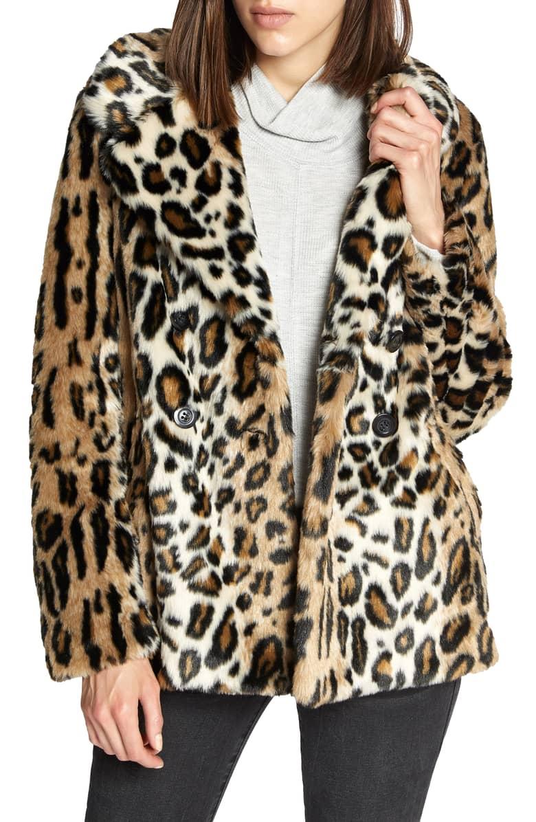 Sanctuary Faux Fur Jacket -
