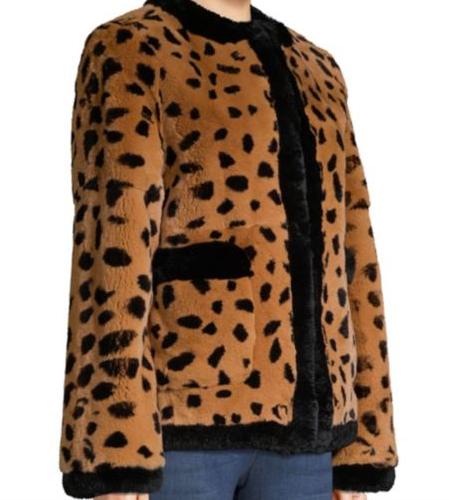 Leopard Fur Coat -
