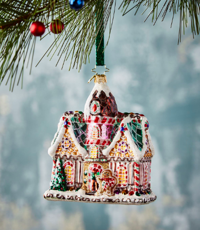 Gingerbread House Ornament - Christopher Radko