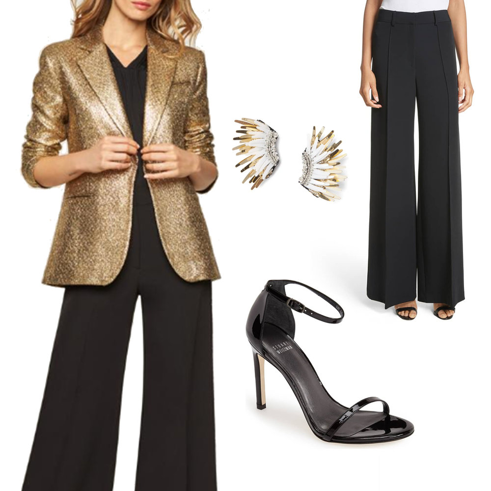 New Year's Eve Outfit Idea
