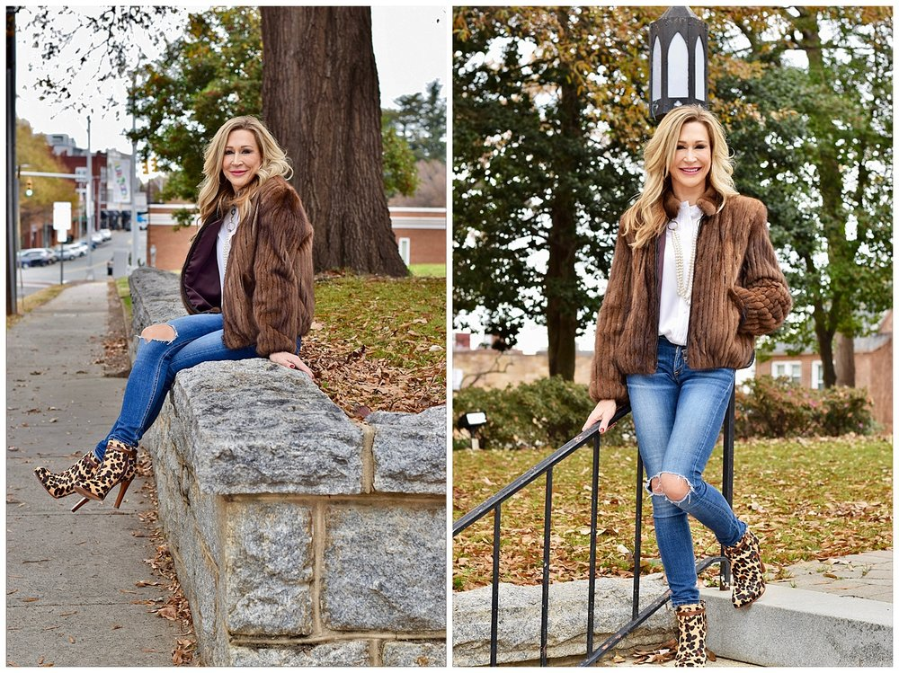 Vintage Fur Coat - Crazy Blonde Style