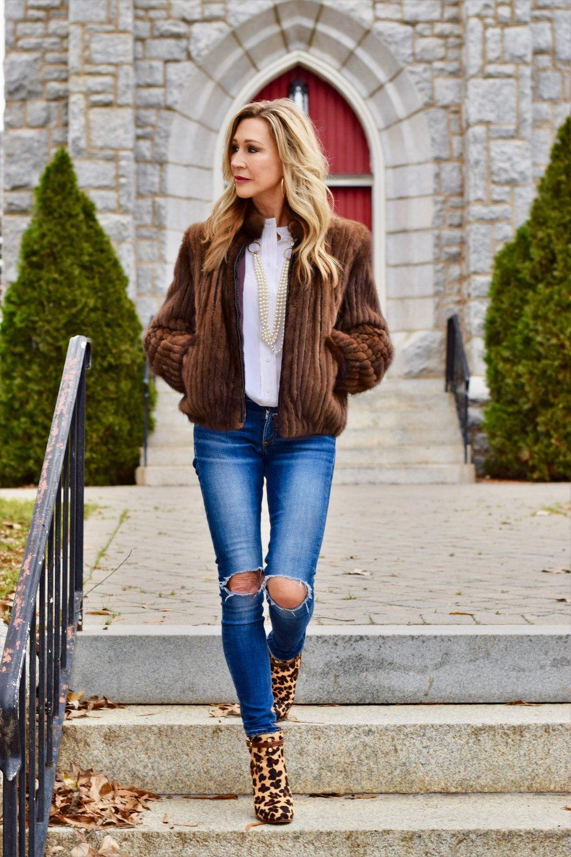 Vintage Fur Coat - Crazy Blonde Style