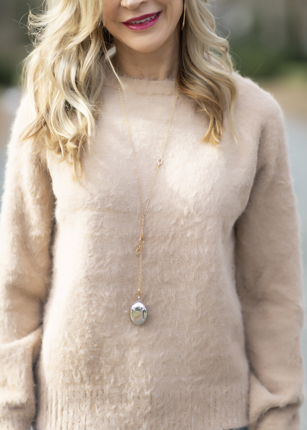 Winter Outfit Idea - Crazy Blonde Life