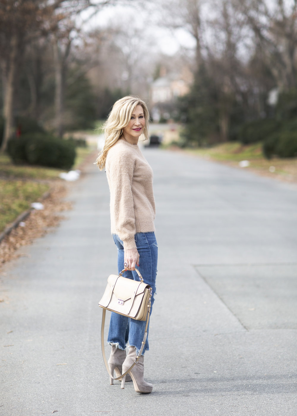 Winter Outfit Idea - Crazy Blonde Style