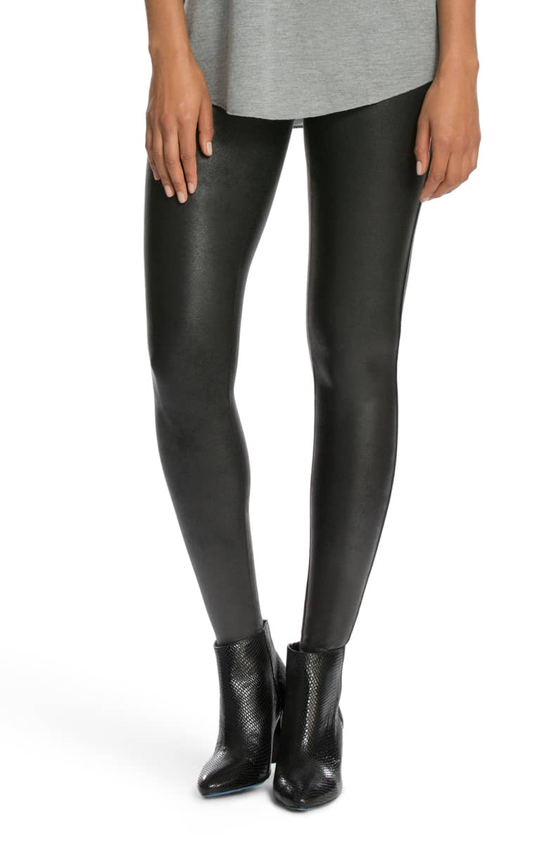Spanx Faux Leather Leggings -