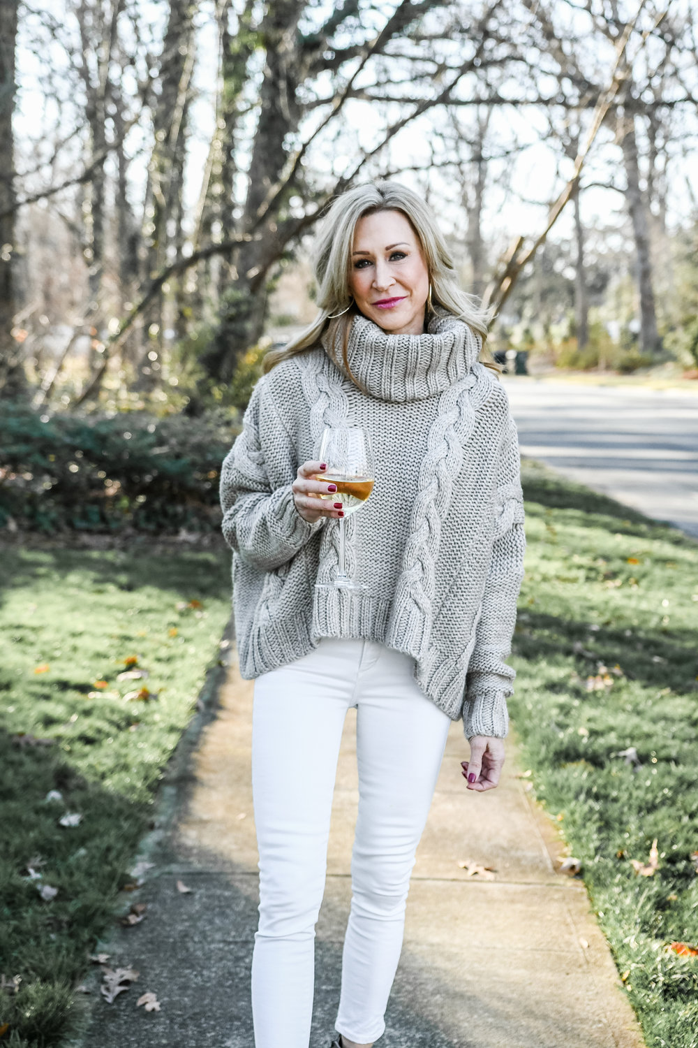 Vici sweater with Frye booties - Crazy Blonde Life