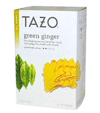Tazo Green Ginger Tea - My favorite green tea