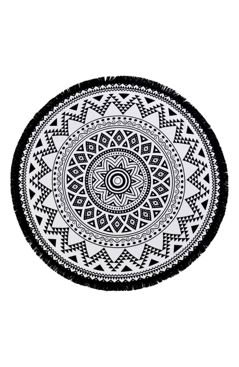 Kilim Round Beach Towel - Love this on the beach or by the pool!