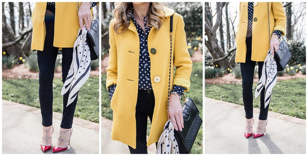 Styling a Spring Coat - Crazy Blonde Life