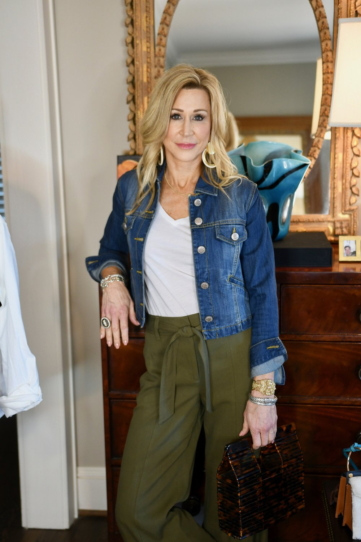 Denim Jacket - Crazy Blonde Style