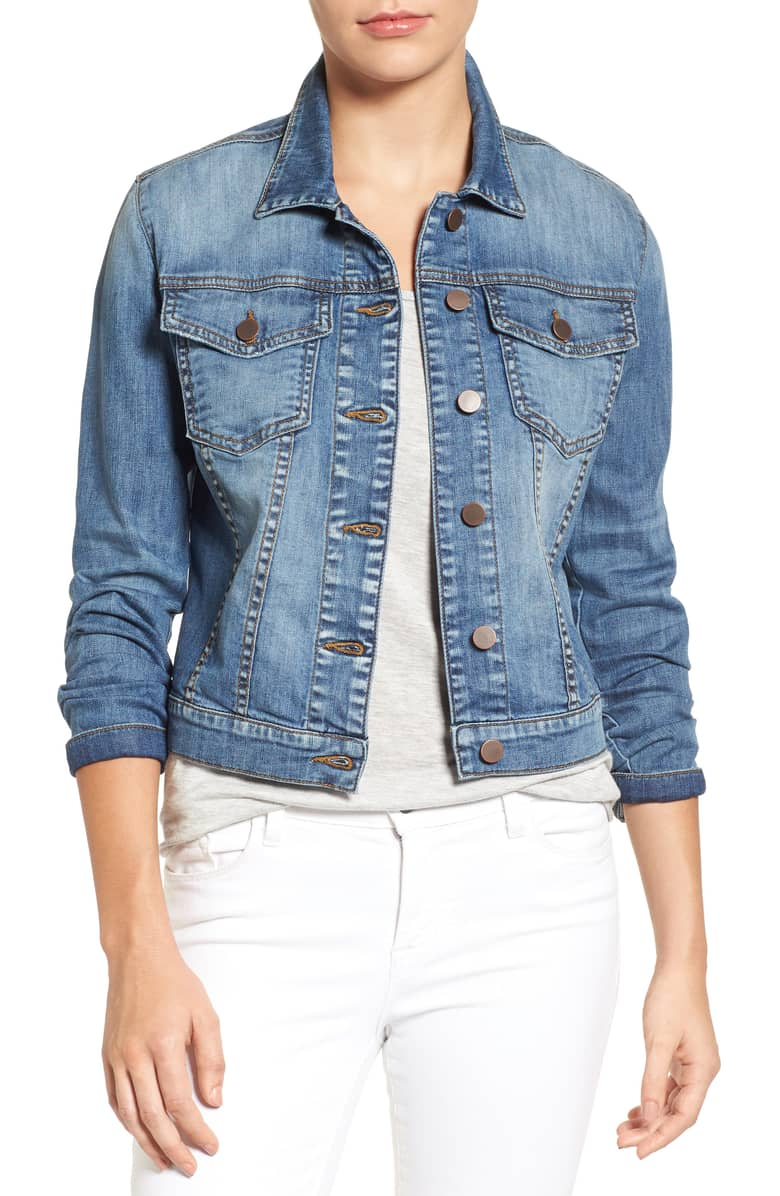Denim Jacket for Spring - Kut From the Kloth