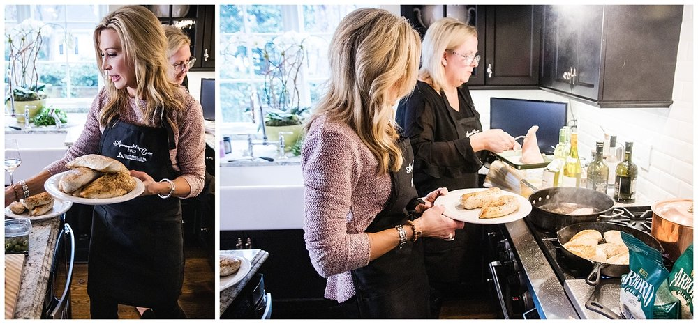 The making of a dinner party - Crazy Blonde Style