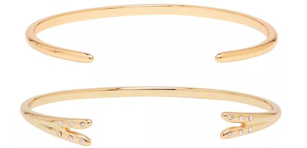 Michelle Campbell Talon Bracelet Set - Retails for $215