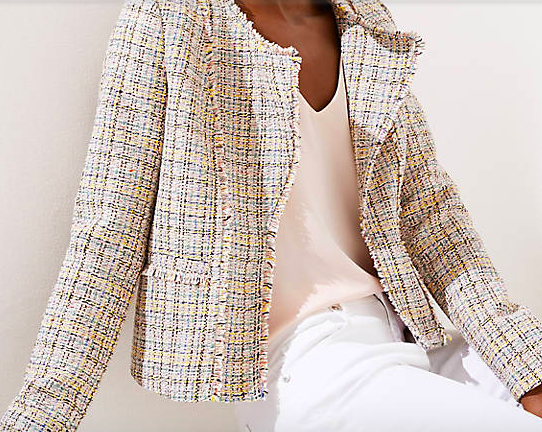 Loft Tweed Jacket - 40% off now!