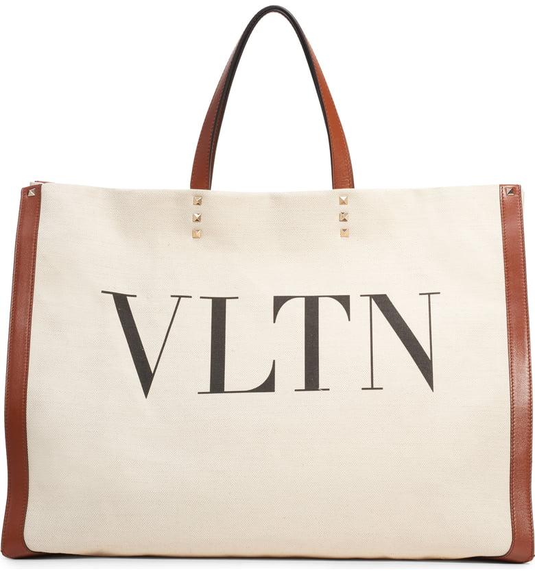 Valentino Logo Tote -
