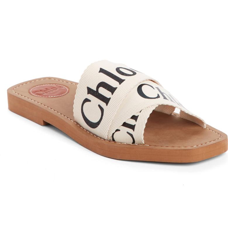 Chloé Logo Slide Sandal -