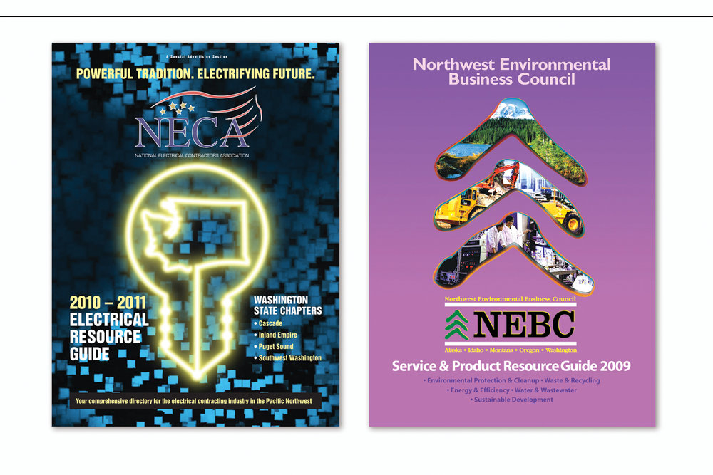 Annual Resource Guide,   National Electrical Contractors Association  and  Services & Product Guide,   Northwest Environmental Business Council