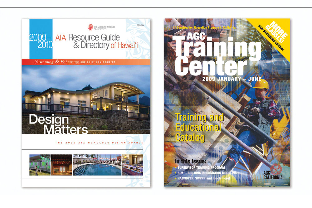 Annual Design Awards Edition,   American Institute of Architects  and  Continuing Education Catalog,   Associated General Contractors of CA
