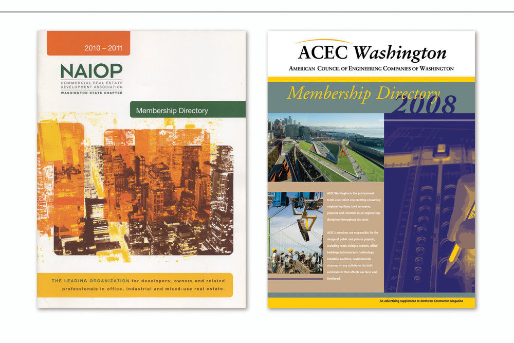 Annual Membership Directory,   Commercial Real Estate Development Association  and  Consulting Firms Membership Directory,   American Council of Engineering